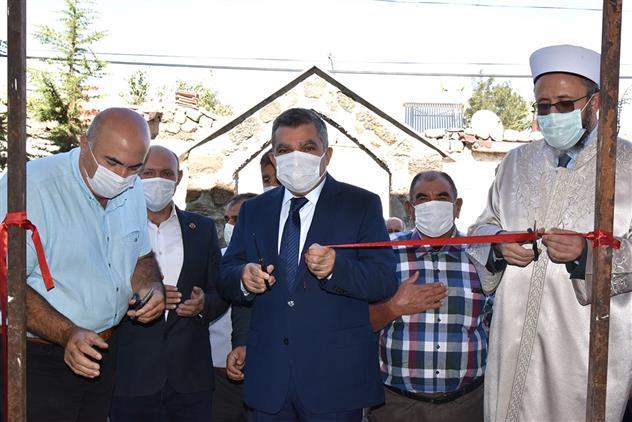 Karaman'da Tadilatı Yapılan Madenşehri Köyü Cami Hizmete Açıldı