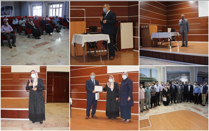 Erzincan'da Tayini çıkan Müftülerimiz Için Veda Programı Düzenlendi