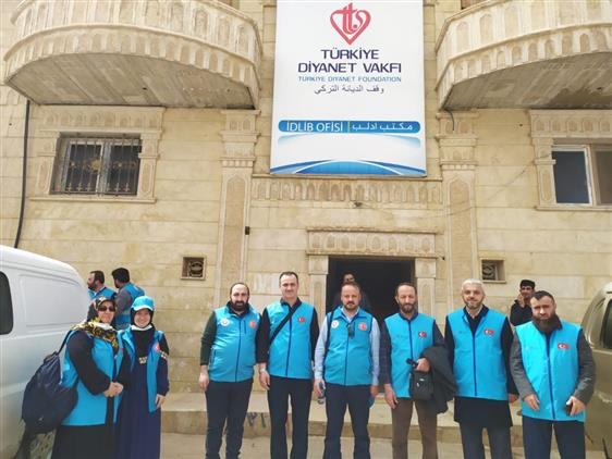Rize'de Tdv Gönüllülerimiz Idlib'e Iyilik Tohumu Ekmeye Gitti