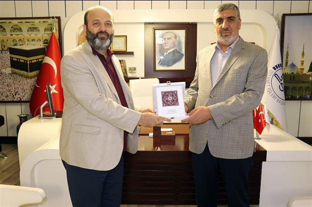 Şanlıurfa'da Tdv Mütevelli Heyeti 2. Başkanı Sn. Ihsan Açık'tan Il Müftülüğümüze Ziyaret