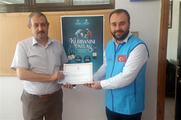 Şanlıurfa'da Tdv' Nin Kurban Bağışı Kampanyasına Destek