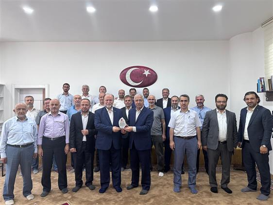 Antalya'da Temmuz Ayı Ilçe Müftüleri Toplantısı Yapıldı