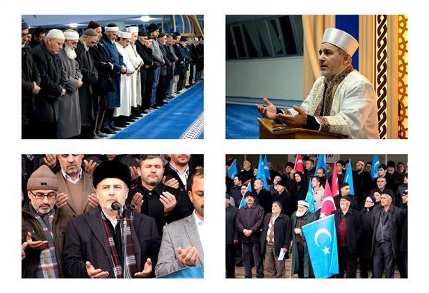 Erzincan'da Terzibaba Camiinde Teheccüd Namazı Ile Beraber Sabah Programı Icra Edildi
