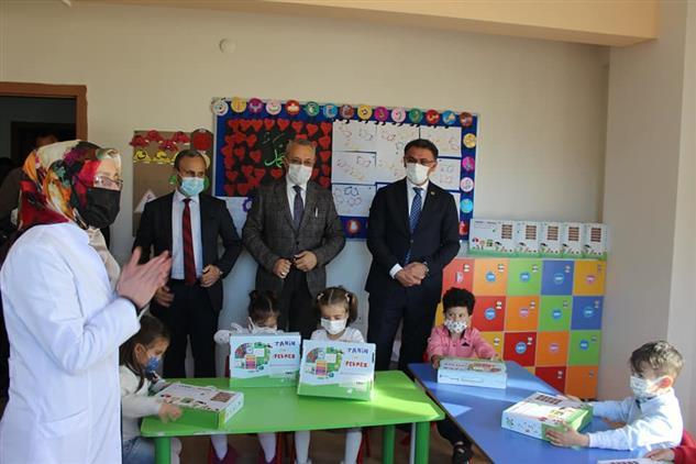 Tokat'ta 4-6 Yaş Okul öncesi öğrencilerine Kitapları Dağıtıldı