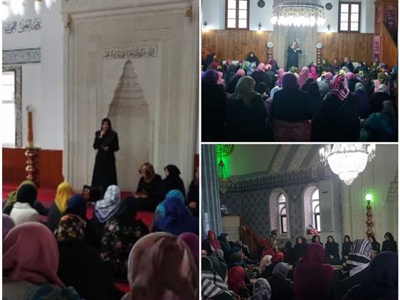 Trabzonlu Hanımlar Camilerde Buluştu