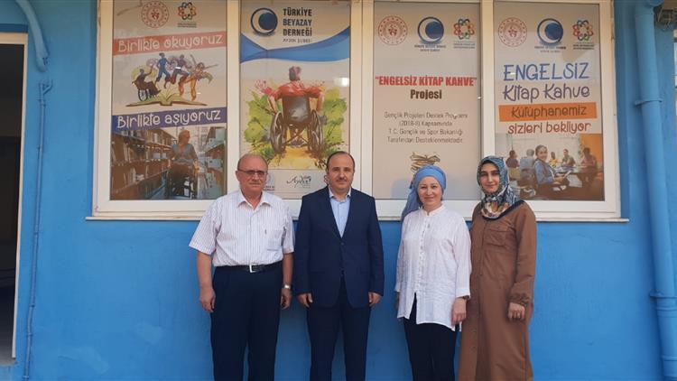 Aydin'da Türkiye Beyazayderneği'ne Ziyaret