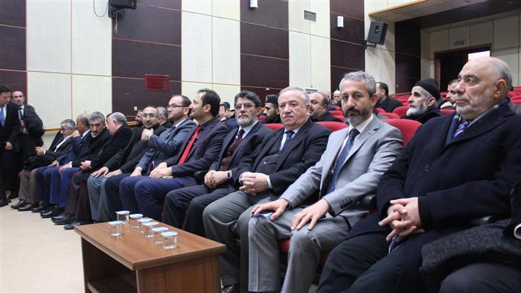 Bitlis'de Türkiye Diyanet Vakfı Tanıtım Ve Bilgilendirme Toplantısı