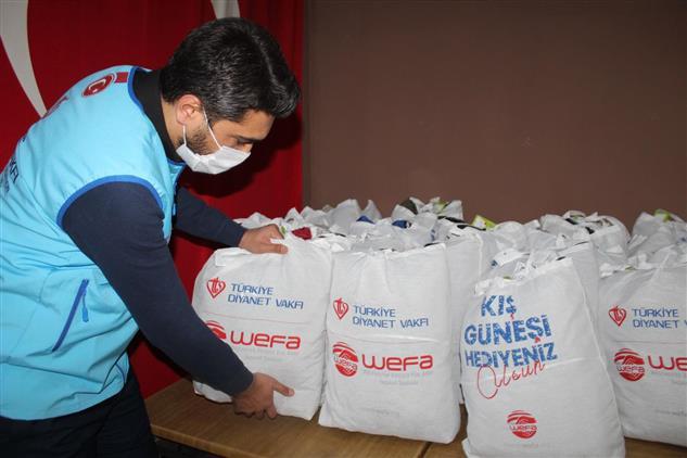 Türkiye Diyanet Vakfı Yozgat şubemizden 400 öğrenciye Kıyafet Yardımı