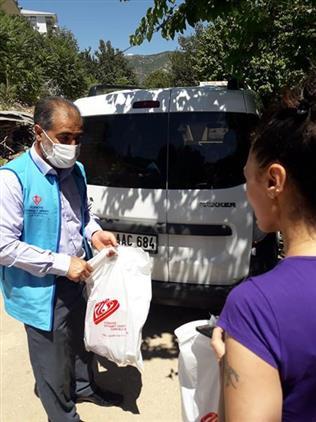 Tunceli'de Türkiye Diyanet Vakfından Kurban Dağıtımı Yapıldı