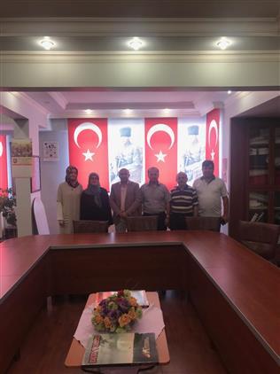 Isparta'da Türkiye Harp Malulü Gaziler şehit Dul Ve Yetimleri Derneği'ni Ziyaret Ettik