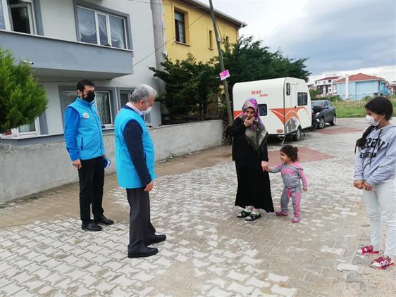 Türkiye Diyanet Vakfı Kırklareli şubesi Ramazan Yardımları