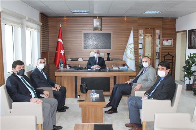 Bilecik'de Tuzla Müftüsü Aydın'dan Müftü Ali Erhun'a Ziyaret
