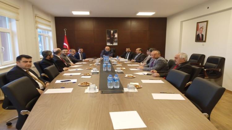 Rize'de şubat Ayı Ilçe Müftüleri Toplantısı Kalkandere'de Yapıldı