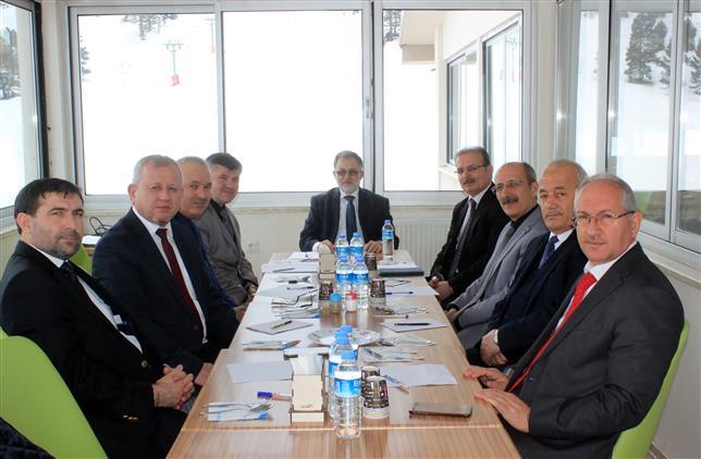 Burdur'da şubat Ayı Ilçe Müftüleri Toplantısı Yeşilova'da Yapıldı