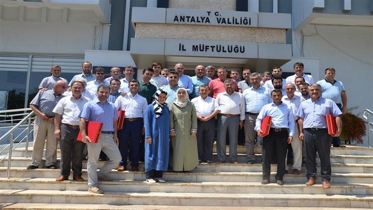 Antalya'da şube Müdürü Ve şef Olarak Atanan Personelimize Veda Yemeği