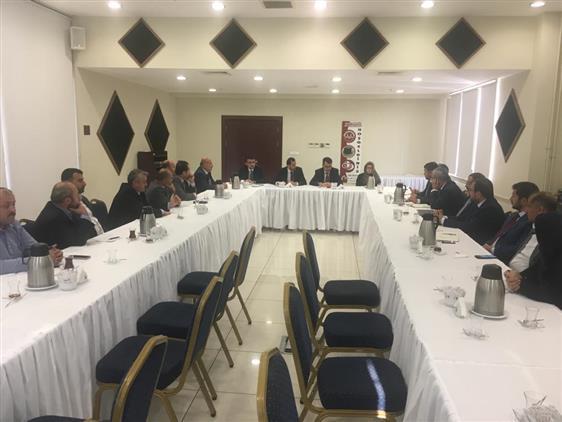 Sinop'ta Umre çalışmaları Istişare Toplantısı Düzenlendi