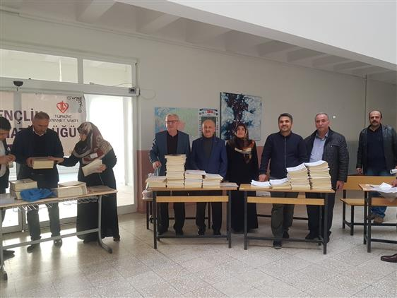 Malatya'da Umre ödüllü Mevlid-i Nebi Gençlik Bilgi Yarışması Yapıldı