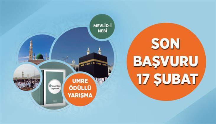 Konya'da Umre ödüllü Mevlid-i Nebi Gençlik Bilgi Yarışması'na Başvurular Devam Ediyor