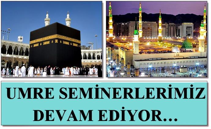 Erzincan'da Umre Seminerlerimiz Devam Ediyor...
