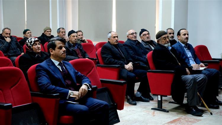 Erzincan'da Umre Seminerlerimizin Dördüncüsü Yapıldı…