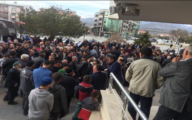 Erzincan'da Umrecilerimiz Dualarla Uğurlandı