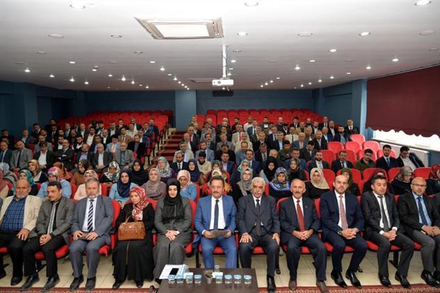 Bilecik'de Vali şentürk Ekim Ayı Din Görevlileri Toplantısında Müftülük Personeliyle Buluştu