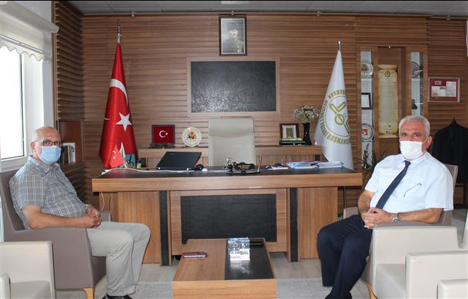 Bilecik'de Vali Yardımcısı Kadiroğlu'ndan Müftü Ali Erhun'a Ziyaret