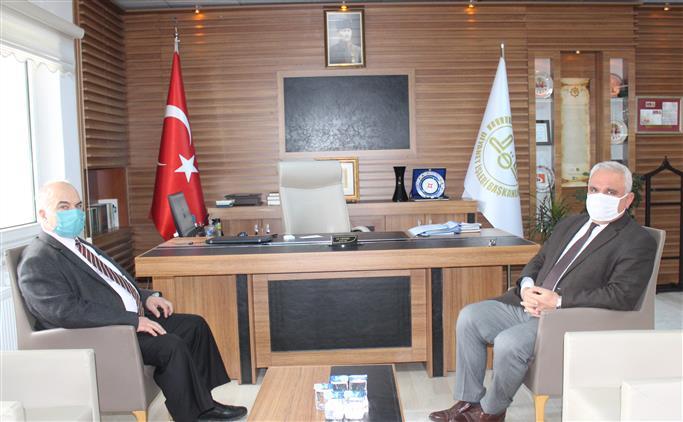 Bilecik'de Vali Yardımcısı Karadağ'dan Bilecik Il Müftülüğüne Ziyaret