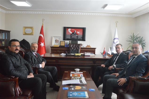 Ardahan'da Vali Yardımcısı Vekili Il Müftülüğümüze Ziyarette Bulundu