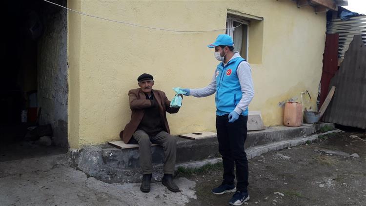 Ardahan'da Vefa Sosyal Destek Grubu çalışmaları Devam Ediyor