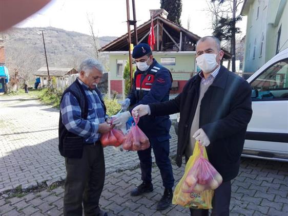 Bartın'da Vefa Sosyal Destek Projesi