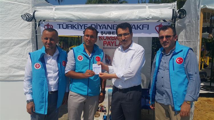 """Sinop'ta """"vekaleten Kurban Bağışı""""nın Startı Verildi"""