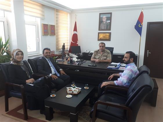 Erzurum'da Vekaletle Kurban Organizasyonu Tanıtım Ziyaretleri