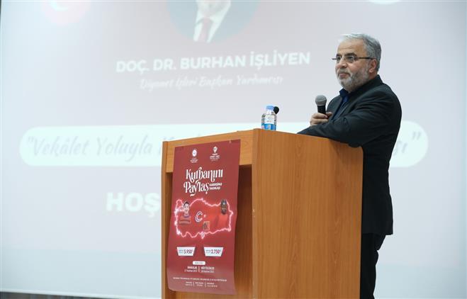 Erzincan'da Vekâlet Yoluyla Kurban Tanıtım Toplantısı Yapıldı