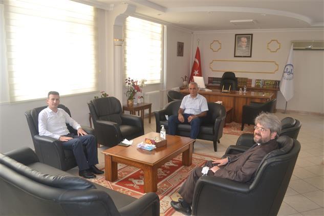 Manisa'da Vergi Dairesi Başkanından Ziyaret