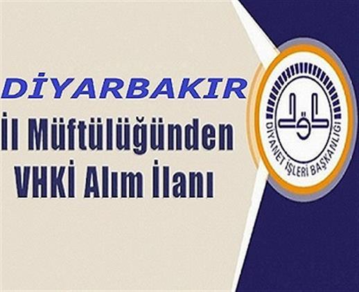 Diyarbakir'da Vhki Alımı Ilanı