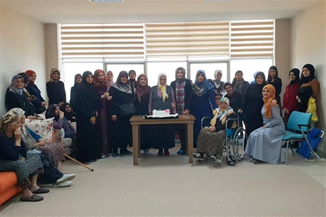 Giresun'da Yaşlıları Duygulandıran Ziyaret