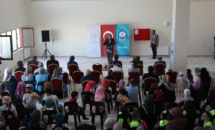 Konya'da Yaz Kur'an Kursları Açılış Programı Yapıldı