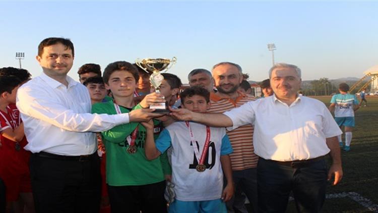 Igdir'da Yaz Kur'an Kursları Arası Futbol Turnuvası