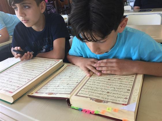 Rize'de Yaz Kuran Kursları Devam Ediyor