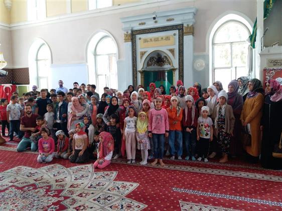 Isparta'da Yaz Kur'an Kurslarında 15 Temmuz Coşkusu