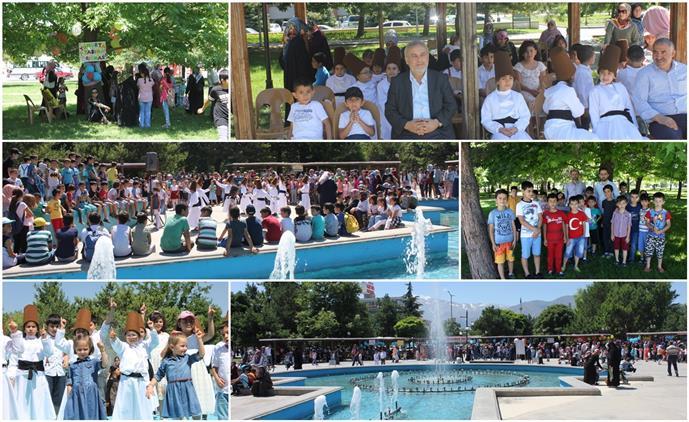 Erzincan'da Yaz Kur'an Kursu öğrencileri şenlikte Buluştu