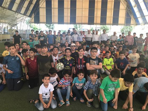 Siirt'te Yaz Kur'an Kursu öğrencileri Kaynaştı