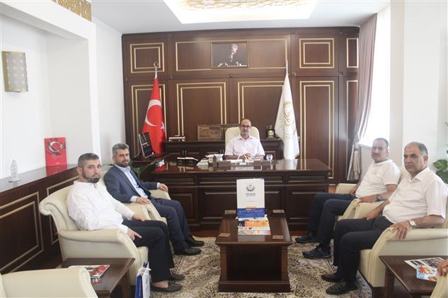 Yedi Başak Insani Yardım Derneği Gaziantep şubesinden Müftülüğümüze Ziyaret