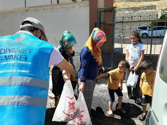 Iyilik Seferberliğimiz Gaziantep'te Devam Ediyor.