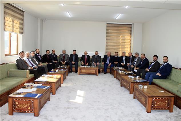 Sivas'ta Yılın Ilk Ilçe Müftüleri Toplantısı Gerçekleşti