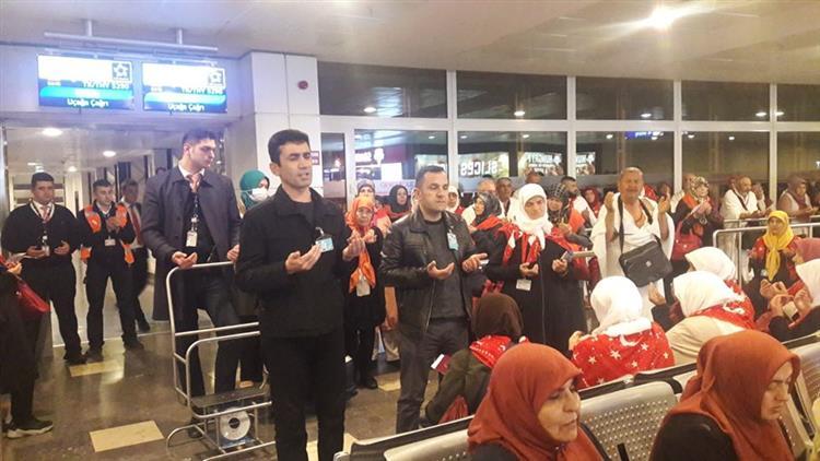 özel Antalya 2 Kafilesi Kutsal Topraklara Uğurlandı